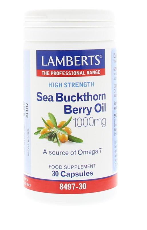 Duindoorn olie 1000 mg - Sea buckthorn berry oil