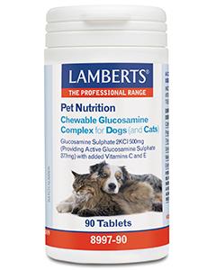 Glucosamine kauwtabletten voor hond en kat