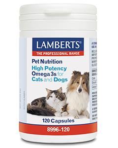 Omega 3 voor dieren hond en kat