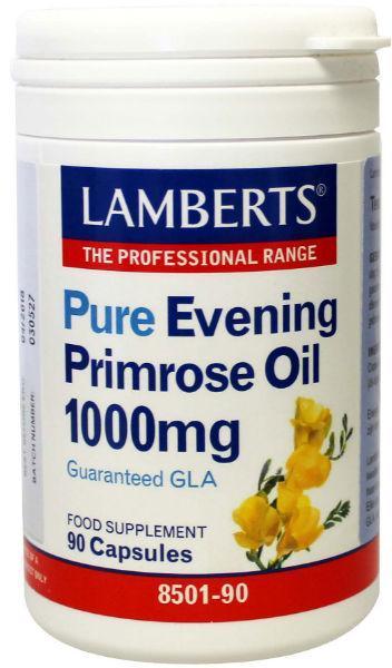 Teunisbloemolie 1000 mg (pure evening primrose)