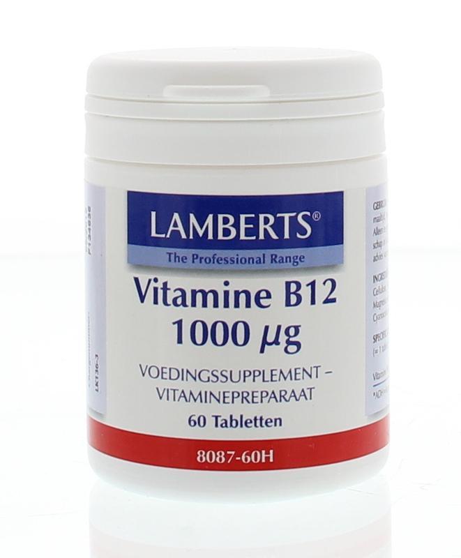 Vitamine B12 1000 mcg (cyanocobalamine)