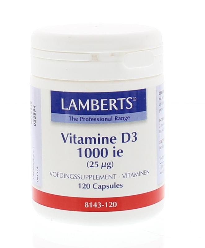 Vitamine D3 1000IE 25 mcg