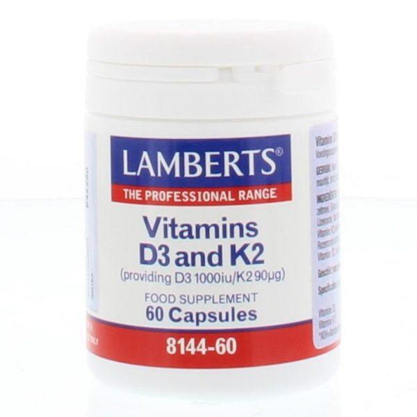 Vitamine D3 25 mcg + K2 90 mcg