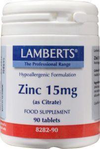 Zink citraat 15 mg