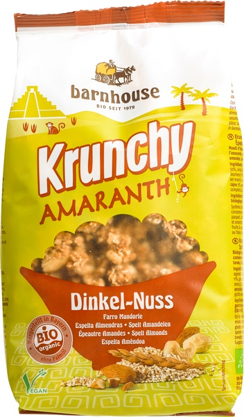 Krunchy amaranth spelt amandel bio