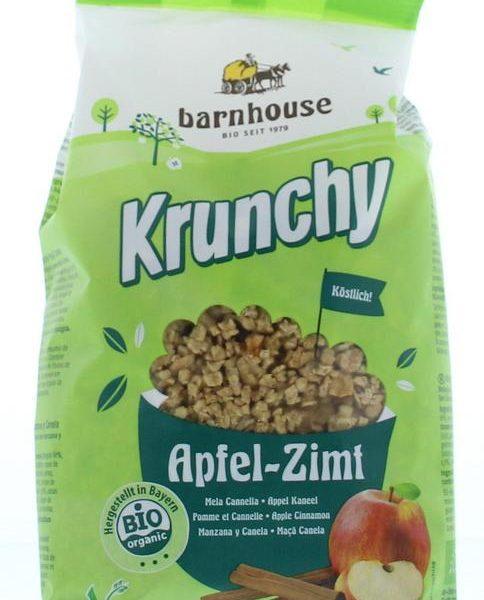 Krunchy appel kaneel bio