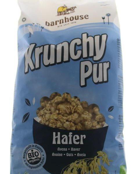 Krunchy pur haver zonder toegevoegde suikers bio