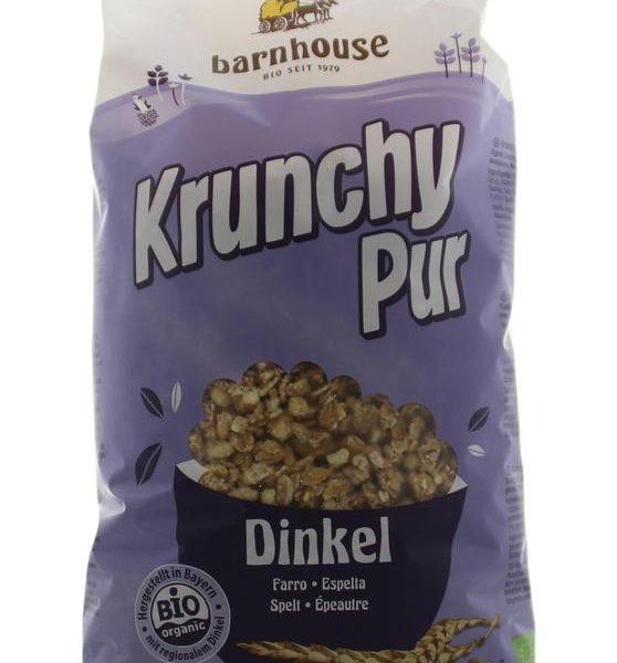 Krunchy pur spelt zonder suiker bio