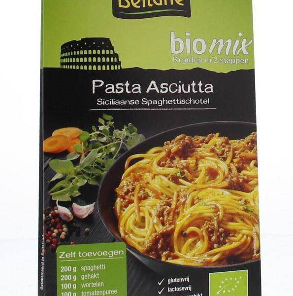 Asciutta Siciliaanse spaghetti schotel mix bio