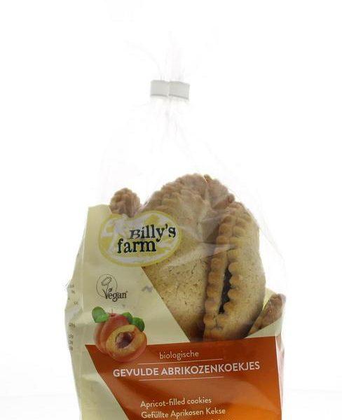 Abrikozenkoekje gevuld bio