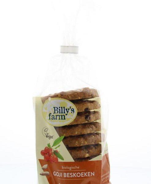 Goji berry cookies bio
