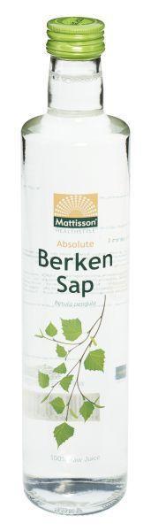 Absolute berkensap 100% puur sap bio raw