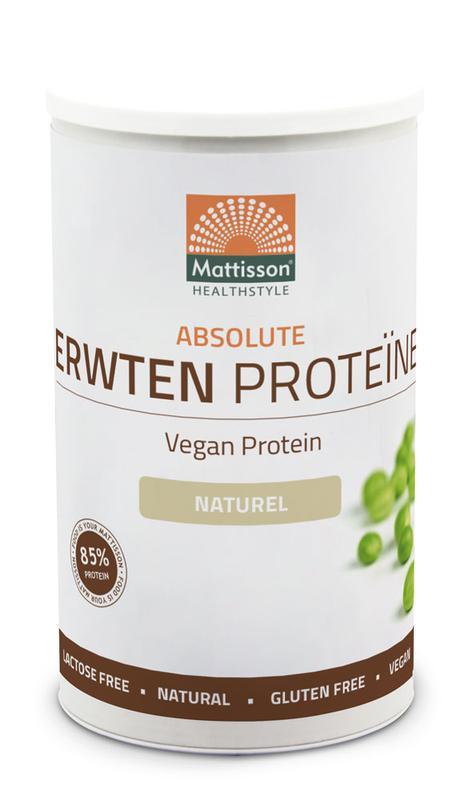 Absolute erwten proteine naturel vegan