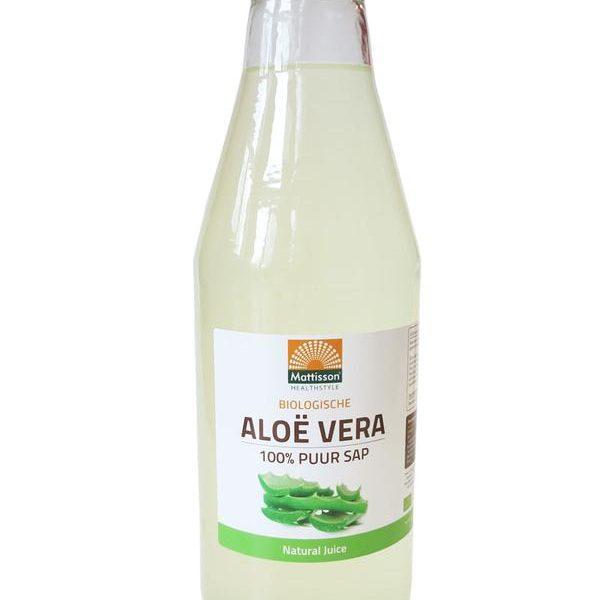 Aloe vera juice puur sap bio