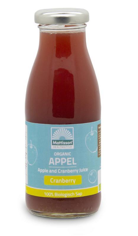Appel & cranberrysap /Apple & cranberry juice bio