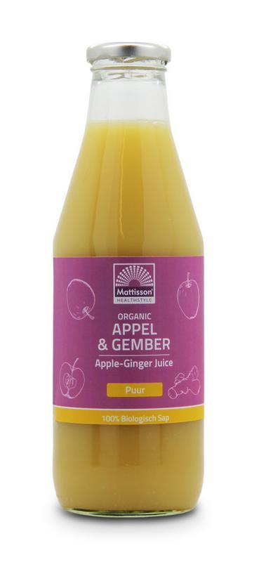 Appel & gembersap bio