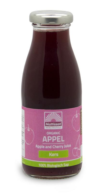Appel en kersensap/Apple and cherry juice bio