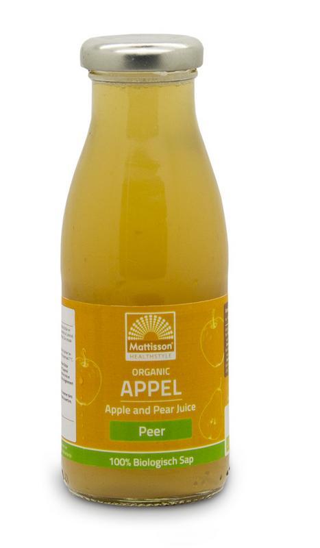 Appel en perensap /Apple and pear juice bio