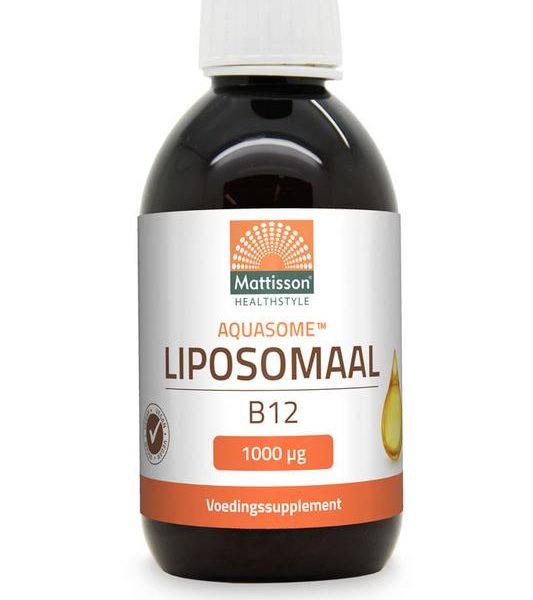 Aquasome liposomaal vitamine B12 1000 mcg