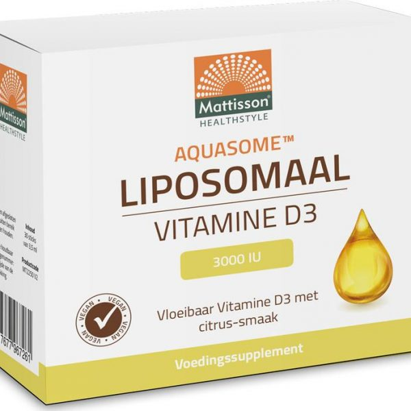Aquasome vitamine D3 3000IU liposomaal
