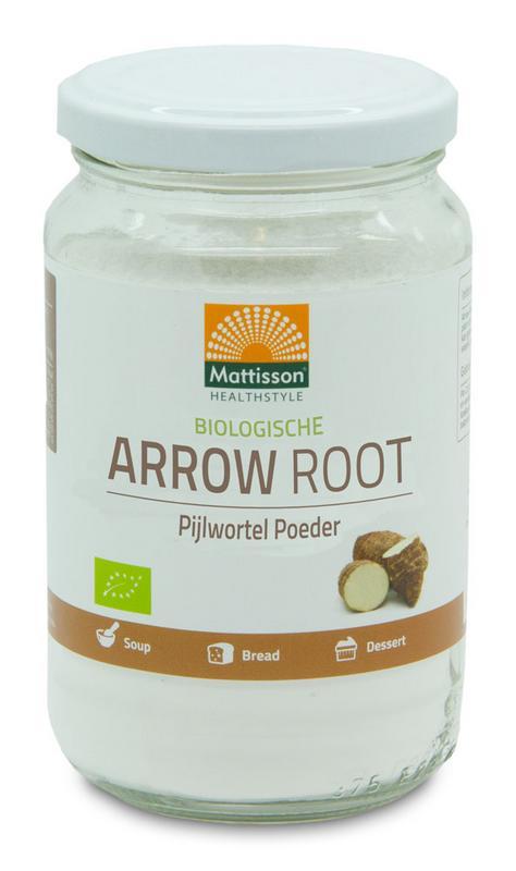 Arrow root pijlstaartwortel poeder bio