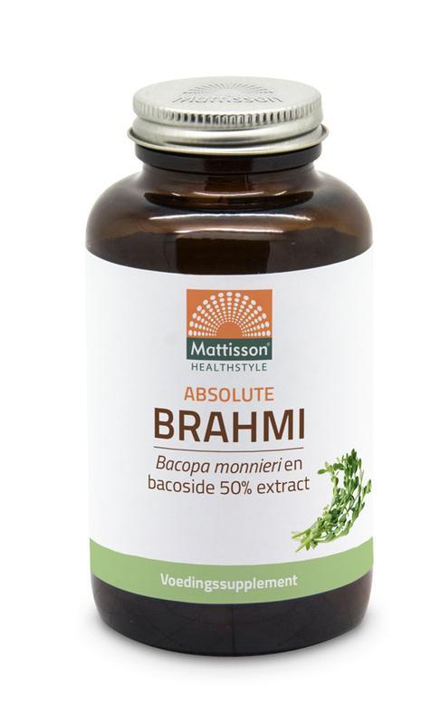 Brahmi bacopa monnieri bacoside 50% extract