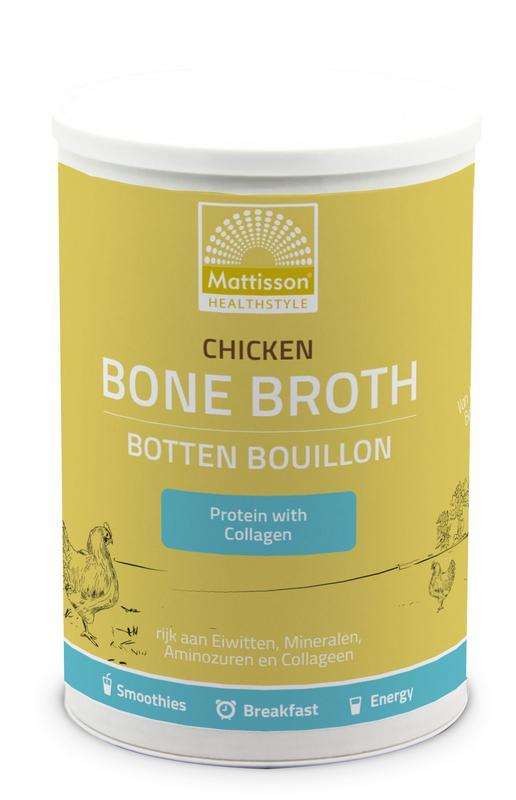 Chicken bone broth - Botten bouillon kip