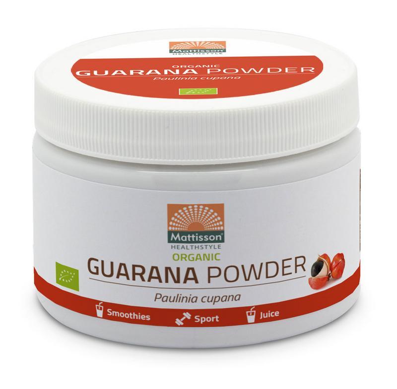Guarana poeder bio