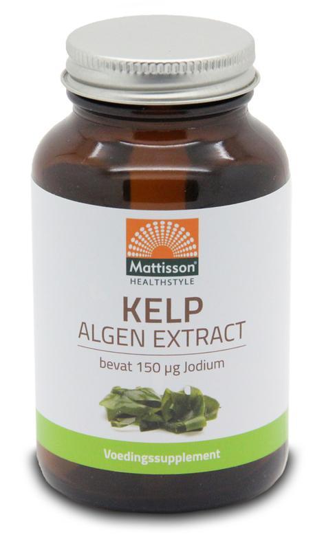 Kelp algenextract 150 mcg jodium