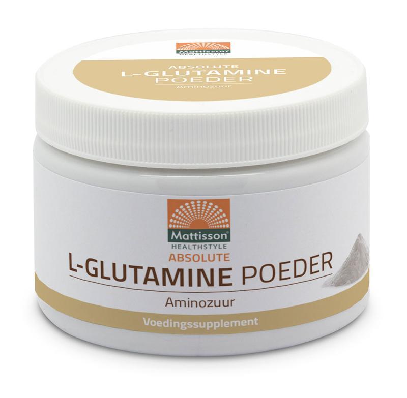 L-Glutamine poeder bio