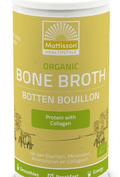 Organic bone broth botten bouillon