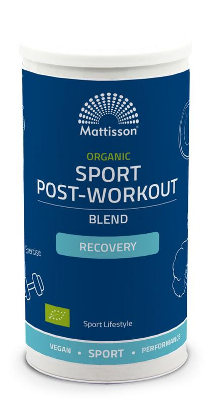 Organic sport post-workout recovery blend