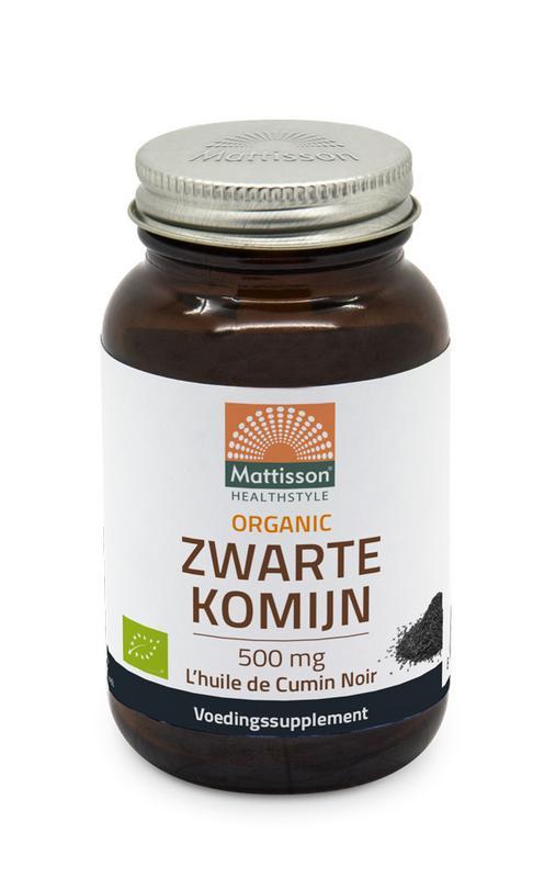 Organic zwarte komijn 500 mg bio