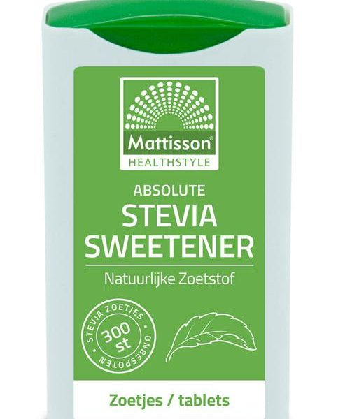 Stevia sweetener zoetjes/tablets