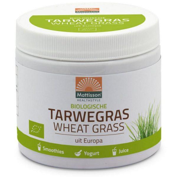 Tarwegras wheatgrass poeder raw bio