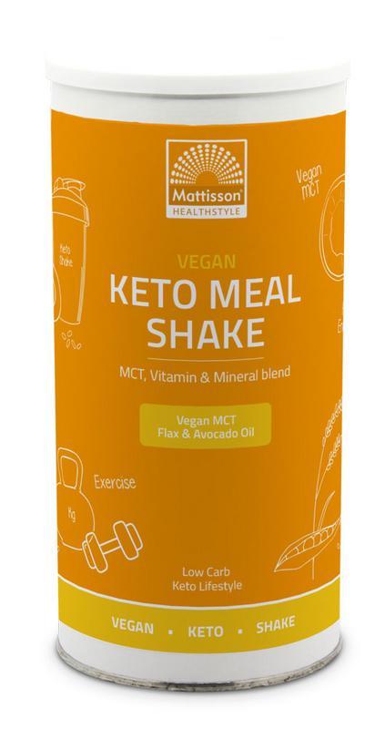 Vegan keto meal shake