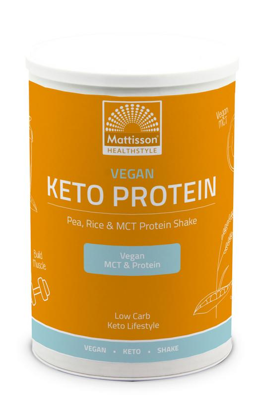 Vegan Keto protein shake - pea, rice & MCT
