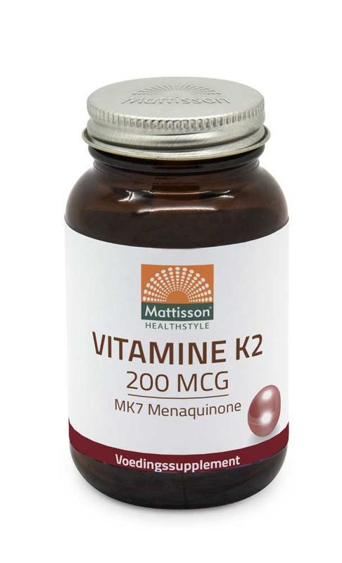 Vitamine K2 200 mcg/MK7
