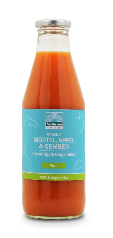 Wortel appel & gembersap bio