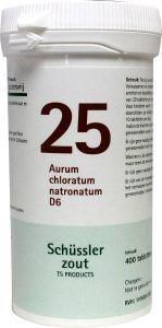Aurum chloratum natrium 25 D6 Schussler