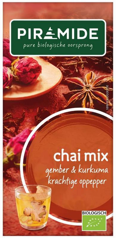 Chai mix kurkuma bio