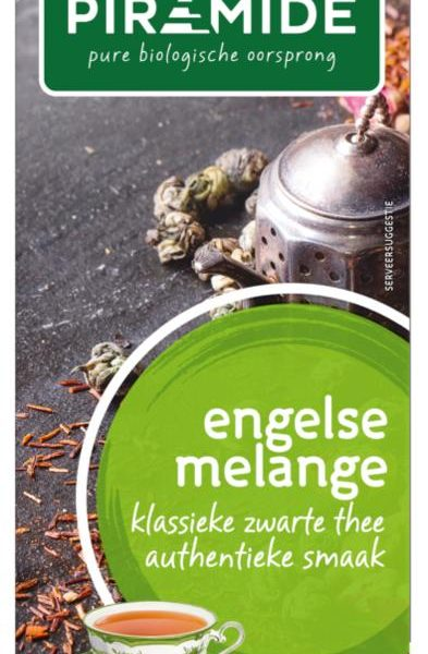 Engelse melange thee eko bio