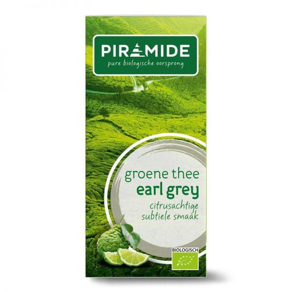 Groene thee & earl grey eko bio