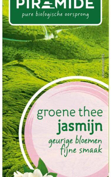 Groene thee & jasmijn eko bio