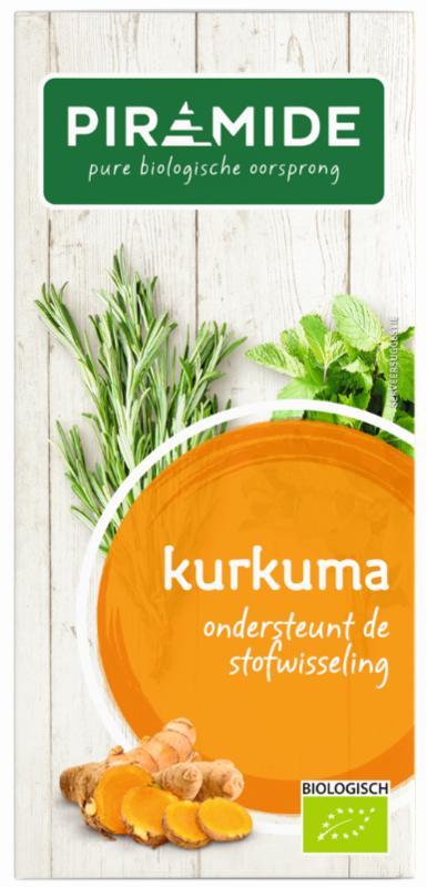 Kurkuma thee bio