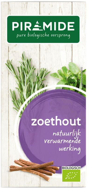 Zoethout thee eko bio