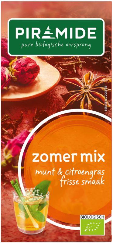 Zomermix thee bio