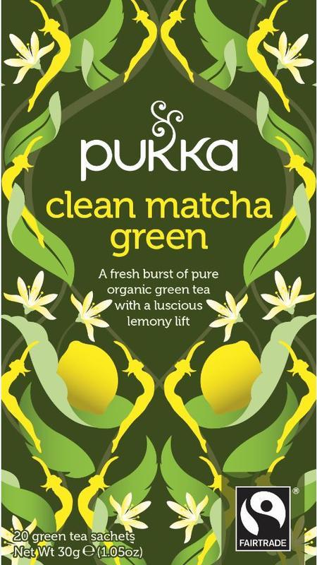 Clean matcha green bio