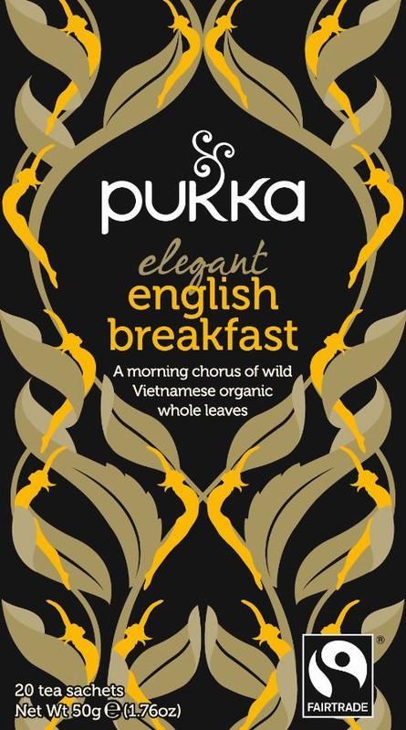 English breakfast elegant bio