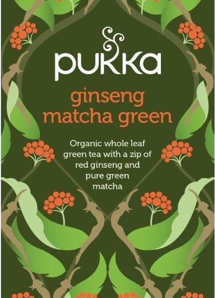 Ginseng matcha green bio